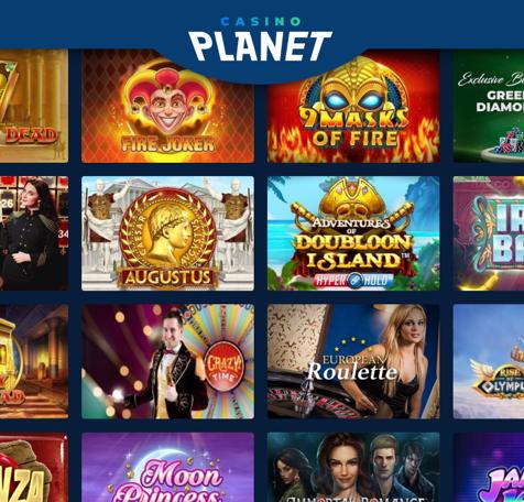 Casino planet step 4 - Get your bonus