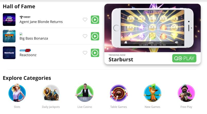 CasiGo casino games and slots