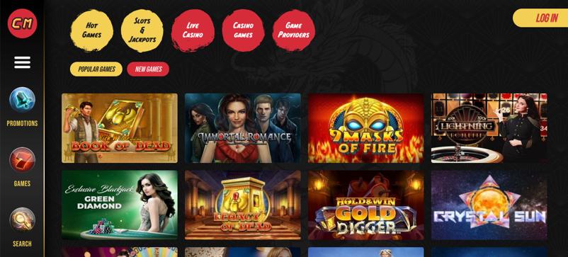 games & slots