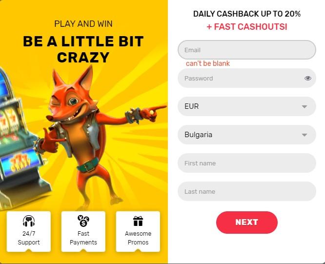 crazy-fox-casino-sign-up